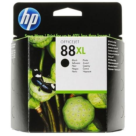 HP 88XL Black Officejet Ink Cartridge Negro cartucho de tinta ...