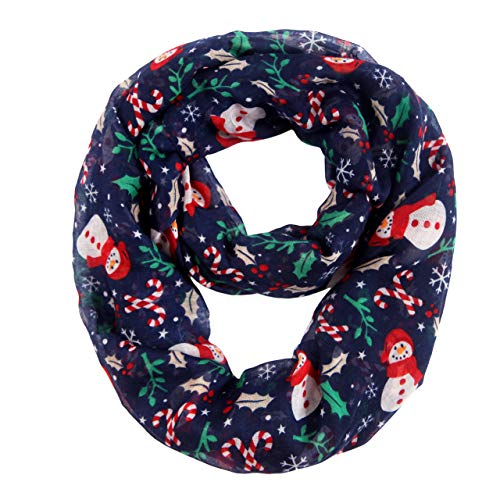 Christmas Infinity Scarf Lightweight Loop
