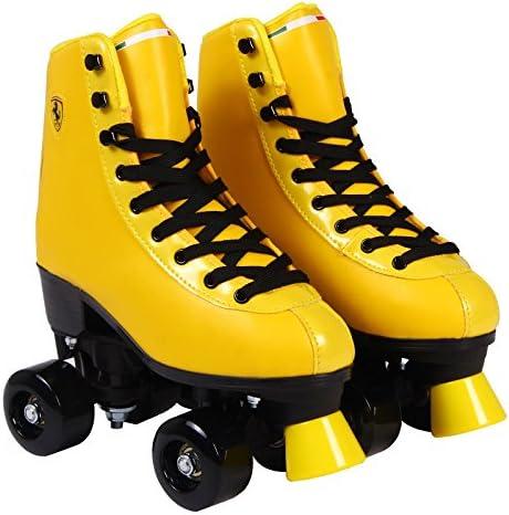 Euro Size 35-42 Red Ferrari Classic Roller Skates