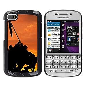Paccase / SLIM PC / Aliminium Casa Carcasa Funda Case Cover - Banner - BlackBerry Q10