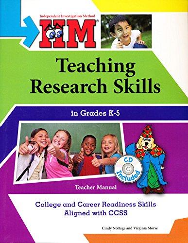 Download IIM: Teaching Research Skills in Grades K-5 - CCSS Edition PDF