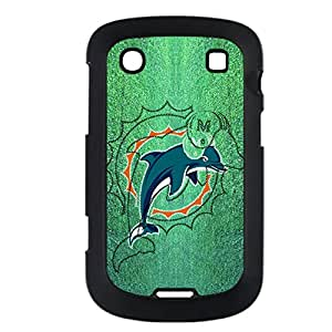 Art Back Phone Covers For Girly For Blackberry 9900 With Nfl Miami Dolphins Choose Design 1