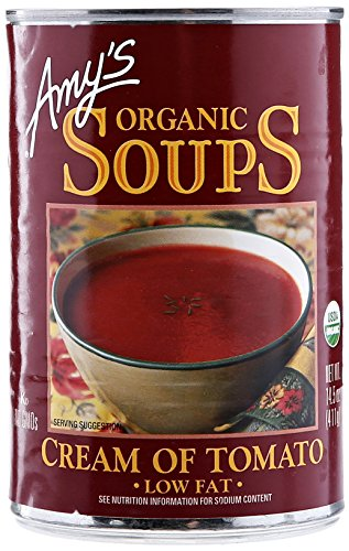 Amy's Organic Soups, Low Fat Cream of Tomato, 14.5 Ounce (Low Fat Cream Cheese)