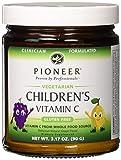 Pioneer Nutrition Children's Vitamin C Powder Fine Powder Grape, 90 Gram
