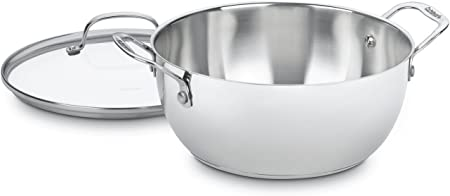 Cuisinart 755-26GD Chef s Classic Stainless 5-1 2-Quart Multi-Purpose Pot with Glass Cover