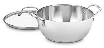 Cuisinart 755 26 Gd Chef's Classic Stainless 5 1/2 Quart Multi Purpose Pot With Glass Cover by Cuisinart