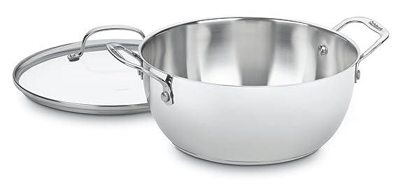 Amazon.com: Cuisinart Chefs Classic 5.5-qt. Macetero de ...
