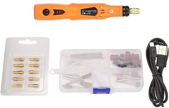3.6 v eléctrico Mini taladro amoladora velocidad ajustable pulido grabado rectificado pluma rotativa herramienta caja de plástico: Amazon.es: Bricolaje y herramientas