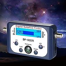 Digital Satellite Signal Finder Meter