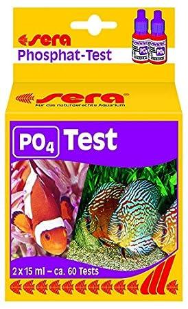 Sera 04930 fosfatos prueba (P04), prueba de agua para aprox. 60 mediciones