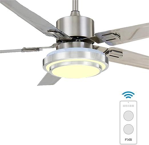 Luz de Ventilador LED de Techo Motor silencioso Rodamiento de ...