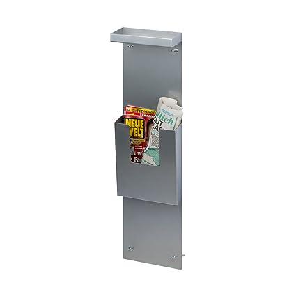 Práctico de inodoro Soporte estante/periódicos para la pared con ventosa – Incluye Envío –