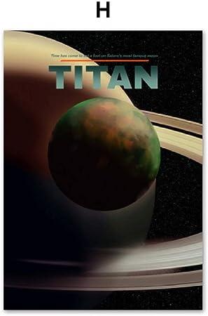 Xwartpic Soleil Mars Terre Venus Planete Systeme Solaire Mur Art