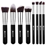 BESTOPE Makeup Brushes 8 Pieces Makeup Brush Set Professional Face Eyeliner Blush Contour Foundation Cosmetic Brushes for Powder Liquid Cream