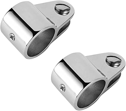"""Bimini Fittings Jaw Slide Hinged Quick Release Pin 1/"""" Marine Stainless Steel"""