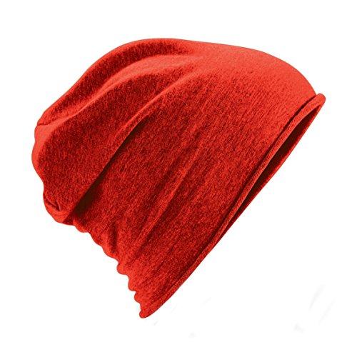 Beanie Plain Beechfield Gorro Unisex Mujer Modelo Rojo Jersey Hombre O5xPxzwq