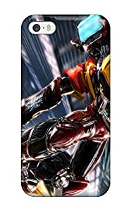 Tpu Case Cover For Iphone 5/5s Strong Protect Case - Flcl Design