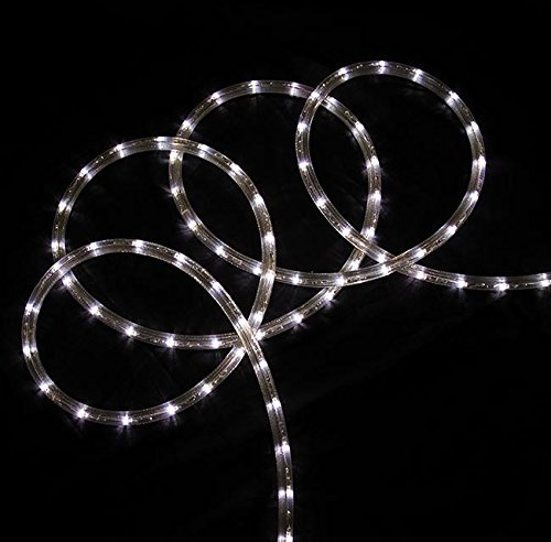 Northlight  Commercial Grade Pure White LED Indoor/Outdoor Christmas Rope Lights On A Spool, 288'