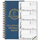 Wirebound Message Book, 2 3/4 x 5, Two-Part Carbonless, 600 Sets/Book, Sold as 1 Each