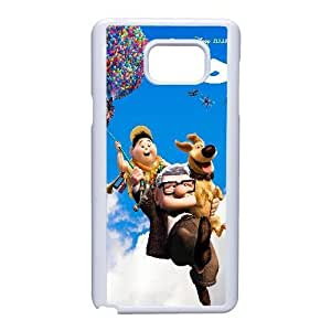 Custom for Samsung Galaxy Note 5 Cell Phone Case White UP Adventure Is Out There Theme OJ7935