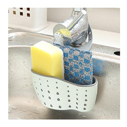 aucet Caddy Blue 1pcs (Scrub Sink Faucet)