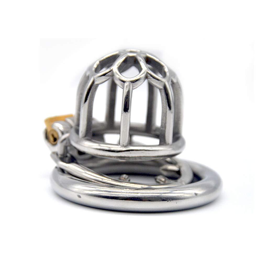 XUDONG Bloqueo de castidad Ronda de castidad Bloqueo de castidad Bloqueo del pene Anillo Anti-derramamiento de Limpieza Anti-engaño más Anti-Ring,45mm: ...