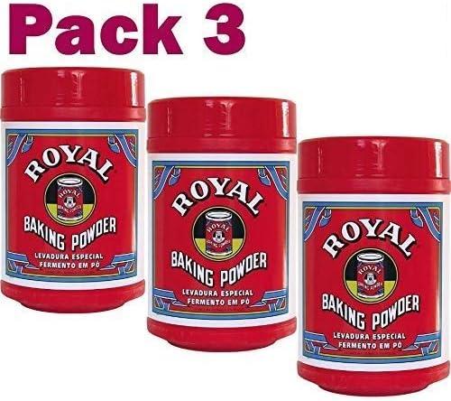 Levadura Royal en polvo - Pack de 3 x 0.8 KG Total de 2400 gr de Levadura - ENVIO 24/48h: Amazon.es: Alimentación y bebidas