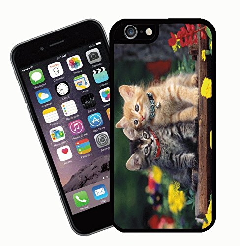 Cat phone case, design 004 - This cover will fit Apple model iPhone 7 (not 7 plus) - By Eclipse Gift Ideas