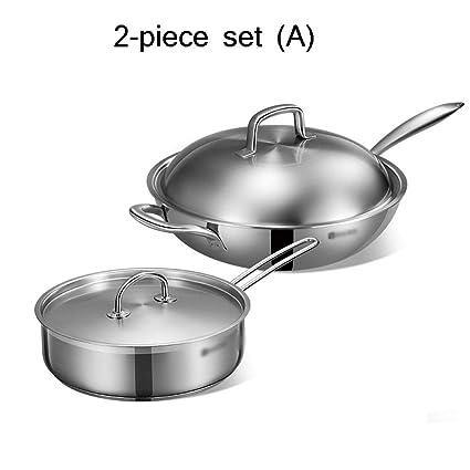 Anthracite Batterie De Cuisine 2 Pieces Cuisiniere A