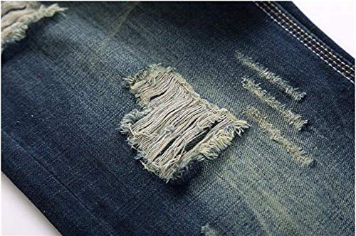 Blau In Classici Originali Nostalgia Da Alla Autocoltivazione Dritti Tendenza Con Jeans Slim Moda Cotone Fit Uomo qUaZpwH