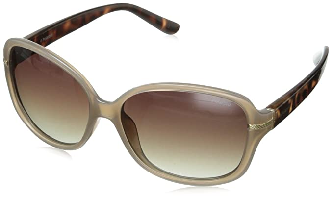 Polaroid Mujer P8419 LA 10A Gafas de sol, Beige (Beige/Brown Faded Polarized), 58: Amazon.es: Ropa y accesorios