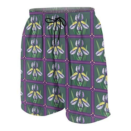 familygam Boys Trunks Swimwear,脗漏 2011 Iris Quilt_642,S