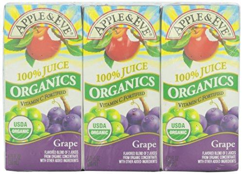 Apple & Eve Juice Grape, 3 ct, 6.75 oz