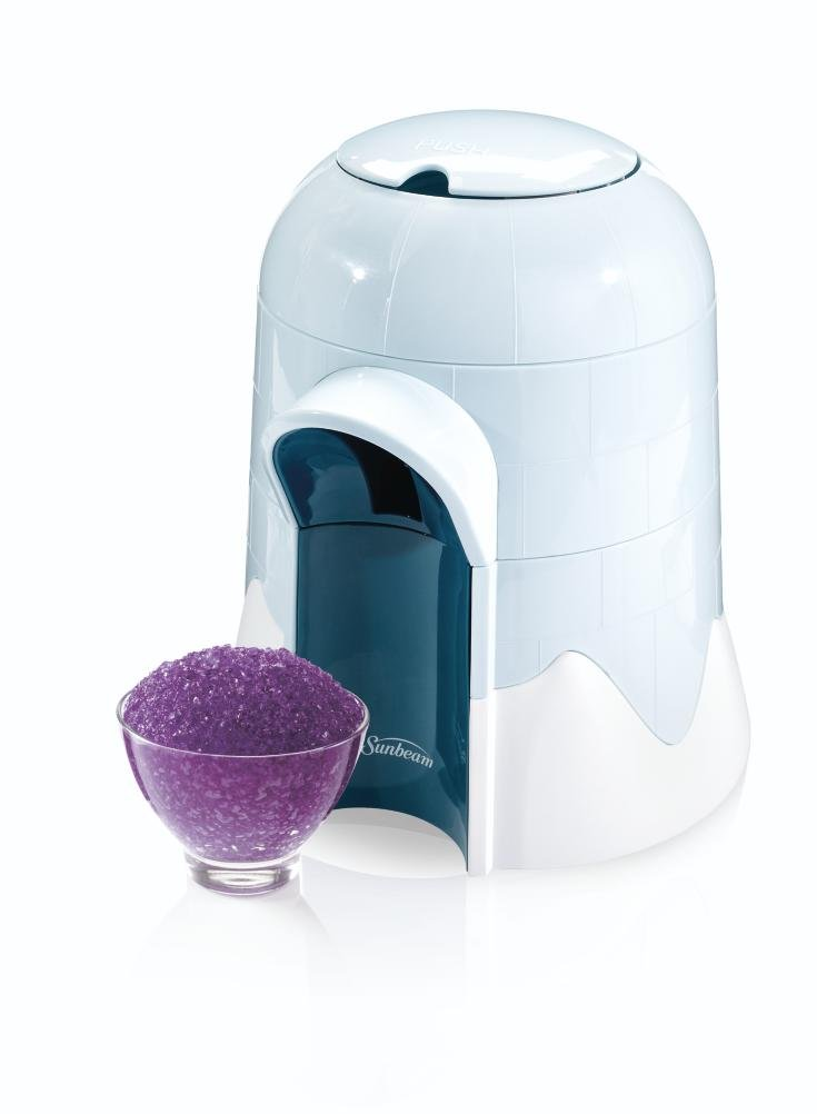 Sunbeam FRSBSCIGO Igloo Snow Cone Maker, White