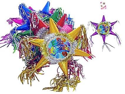 Amazon.com : Hand Made Decorative Decoration Mini Pinatas ...