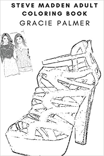 Steve Madden Adult Coloring Book Famous Fashion Designer And