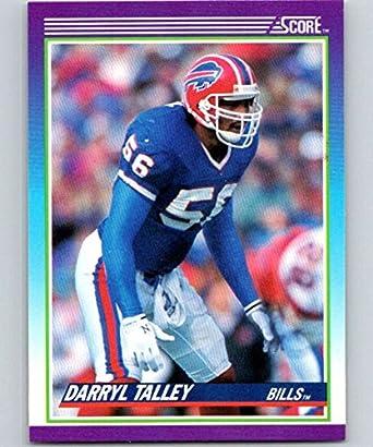 Verzamelingen 1985 Topps #207 Darryl Talley Buffalo Bills RC Rookie Football Card Verzamelkaarten: sport