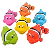 #4: Go Fishing! Bath Toys - 12 Pack Squirting Bath Toys 3