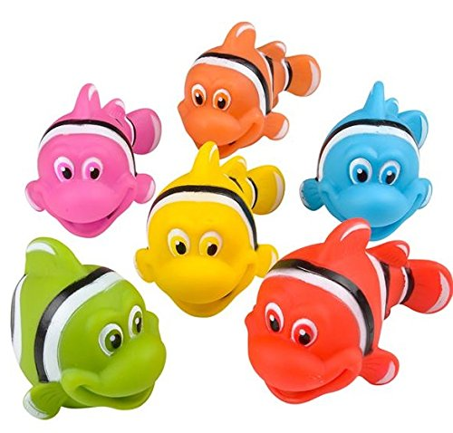 (Neliblu Go Fishing! Bath Toys - 12 Pack Squirting Bath Toys 3