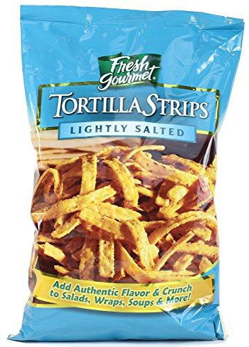Fresh Gourmet Tortilla Strips, Lightly Salted, 16 oz (Tortilla Strips)