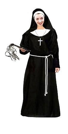 sanctuarie designs womens nun deluxe kit plus size supersize halloween costume dress kit0x