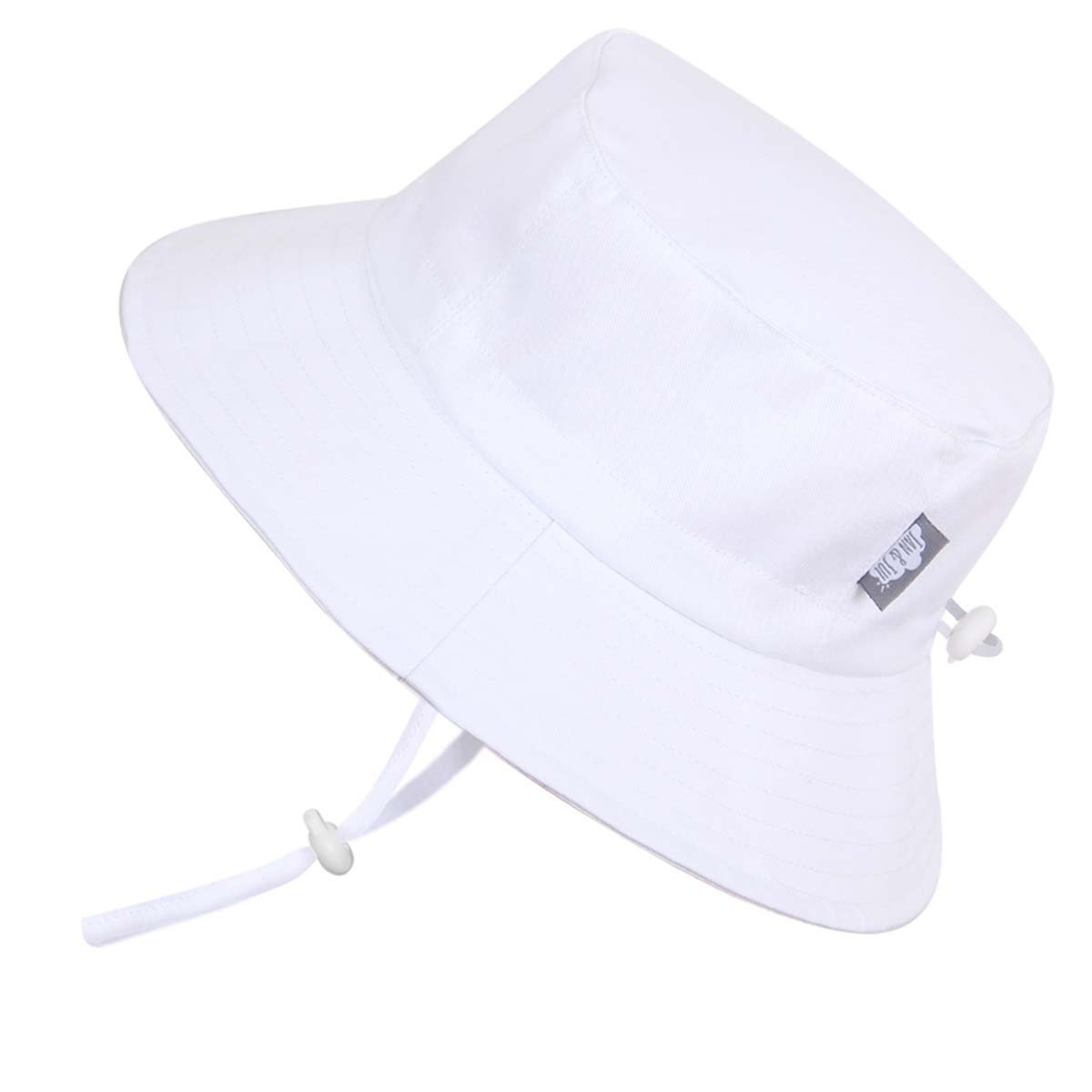 Toddler 50+ UPF Sun Protection Hat, Size Adjustable Breathable With Chin Strap(M: 9m - 3Y, Anchor) Twinklebelle 15-44M