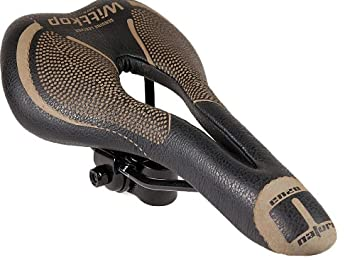Wittkopp Black/Gold Italian Leather Gel Suspension Enzo Gents Saddle