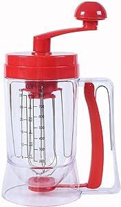 Acrodi Pancake & Cupcake Mixer and Batter Dispenser Perfect Baking Tool Bakeware Maker with Measuring Label