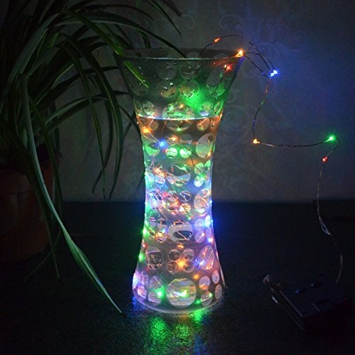 Led String Lights Dimmable : AICase Dimmable LED String Lights with Remote Control, 33 Ft 100 LEDs Waterproof String Lights ...
