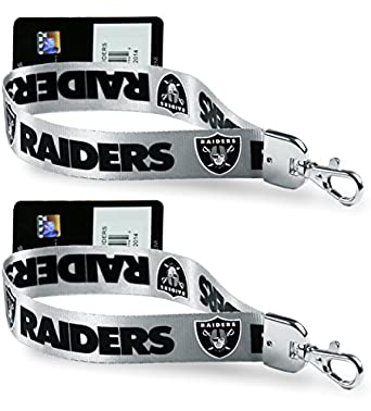 Amazon.com: Oficial de la NFL – (Set de 2) Wristlet Key ...