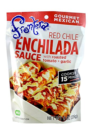 Frontera Foods Inc. Sauce, Enchilada, Red Chile, 8-Ounce (Pack of ()