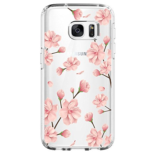 Hovisi TPU Case Back Cover Skin – Protector de visualización para Samsung Galaxy S7 Edge, Color3