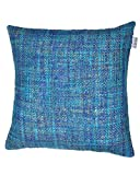 Mosaic Cushion Blue W/Feather Dimensions: 23.5''W x 0.5''D x 23.5''H Weight: 5 lbs
