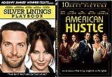 Jennifer Lawrence 2-Movie Bundle - American Hustle & Silver Linings Playbook Collection